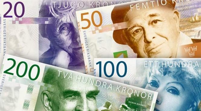 nya sedlar och mynt 2015-2016